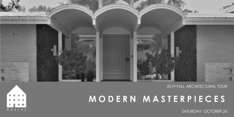 2019 Fall Architectural Tour - Modern Masterpieces tickets