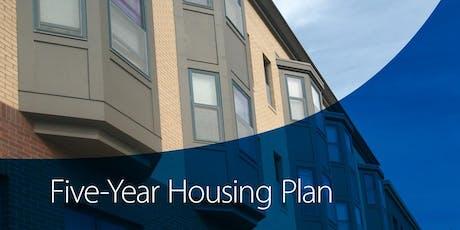 Five-Year Housing Plan Listening Session | Edina tickets