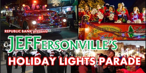 Jeffersonville's Holiday LIGHTS Parade presented by Republic Bank