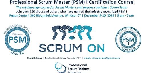 Scrum.org Professional Scrum Master (PSM) I - Hartford (Windsor) CT - Dec 9-10, 2019