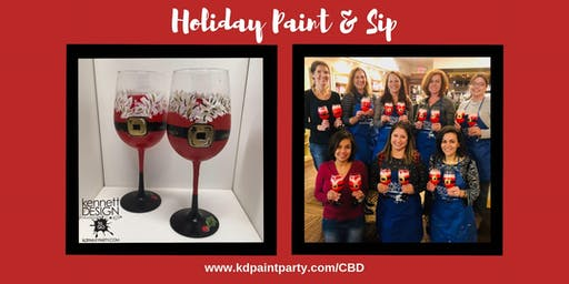 Paint & Sip - Santa Belly Glasses - 12/7