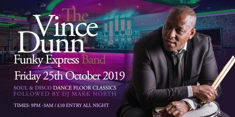 Vince Dunn & The Funky Express Band tickets