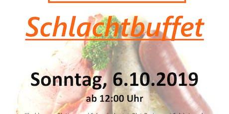 Schlachtbuffet bei Gasthaus-Cafe Isi Tickets