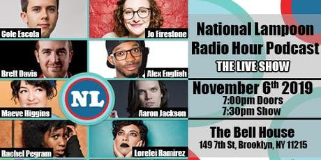 The National Lampoon Radio Hour tickets