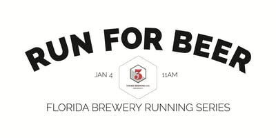 Beer Run - 3 Sons Brewing Co | 2019-2020 Florida Brewery Running Series