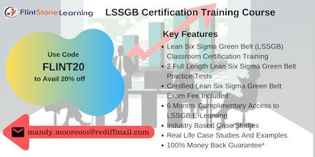 LSSGB Bootcamp Training in Waterloo, IA tickets