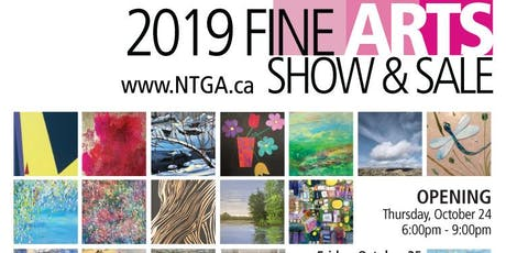 North Toronto Group of Artists 2019 FINE ARTS Show & Sale Opening tickets