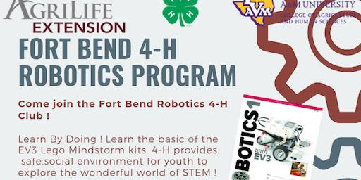 Fort Bend 4-H Robotics Club