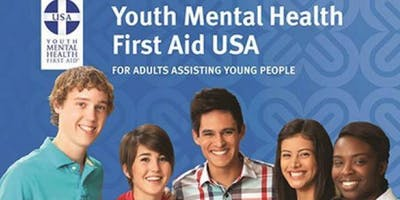 Youth Mental Health First aid Training (Substance Abuse Training)