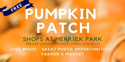 Pumpkin Patch at The Shops at Merrick Park