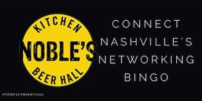 Connect Nashville's Networking Bingo