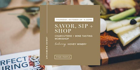 Savor, Sip + Shop at Mobaak [Featuring Hovey Winery] tickets