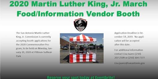 2020 DR MLK Jr Vendor Booths