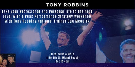 Tony Robbins Preview event - Turning Knowledge into Action! Miami Beach tickets
