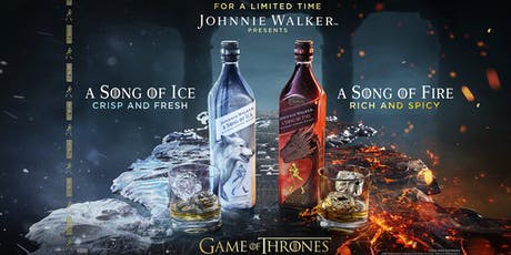 A Song of Ice & A Song of Fire with Johnnie Walker ENG entradas