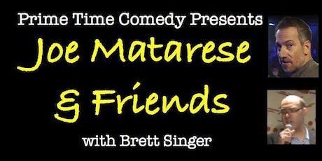 Joe Matarese and Friends 10/23 tickets