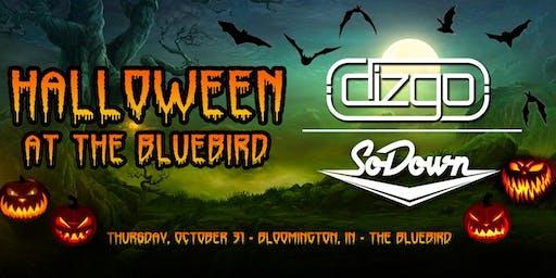 Dizgo & SoDown - Halloween at The Bluebird