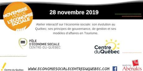 Économie sociale et Tourisme billets