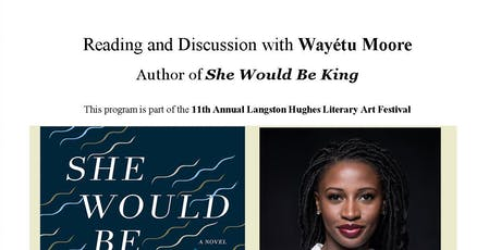 Reading and Discussion with Wayétu Moore, author of She Would Be King tickets