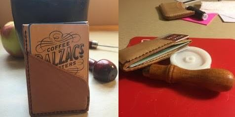 Intro to Leatherwork: Wallet/Cardholder