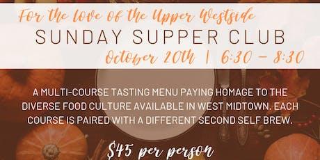 Sunday Supper Club  tickets
