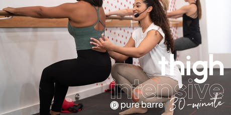 Pure Barre 30-Minute Thigh Intensive tickets