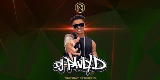 DJ Pauly D @ Noto Philly Oct 24