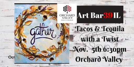 Paint and Sip At Orchard Valley County Club |Auror