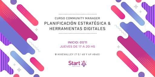 Curso community manager: Planificación estratégica y herramientas digitales
