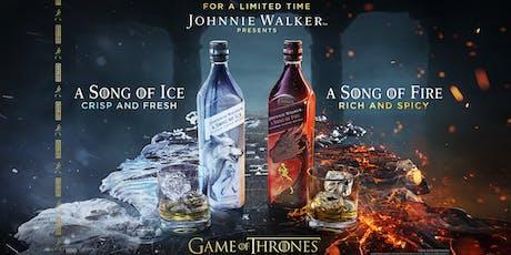 Una canción de hielo y una canción de fuego con Johnnie Walker entradas