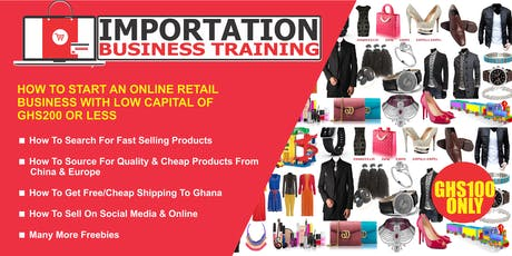 How To Start An Online Retail Business With Capital of GHS200 Or  Less tickets