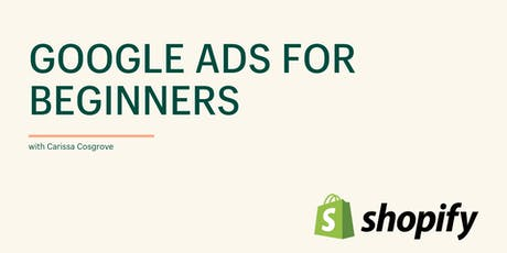 Google Ads for Beginners tickets