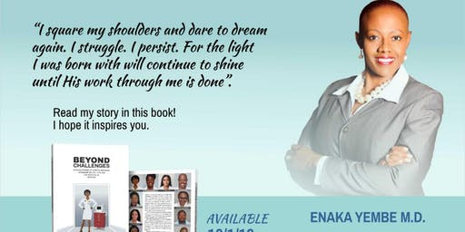 """""""Beyond Challenges""""  -  Book Launch by Dr. Enaka Yembe"""