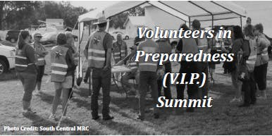 Volunteers in Preparedness (V.I.P.) Summit