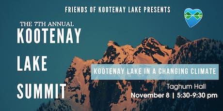 7th Annual Kootenay Lake Summit tickets