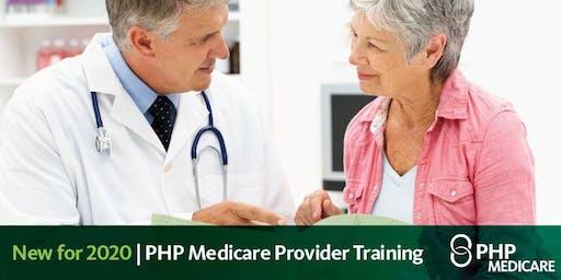 PHP Medicare Provider Training