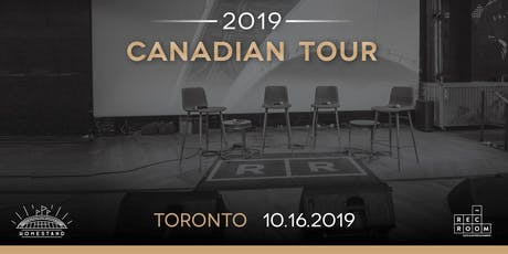 The Athletic 2019 Canadian Tour: Toronto tickets