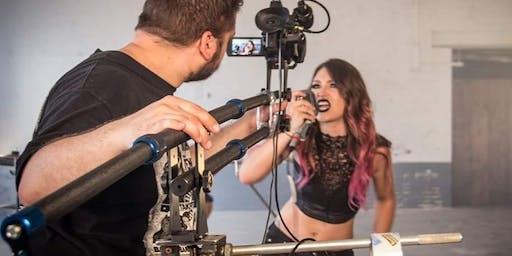 Rock music video shoot, need audience
