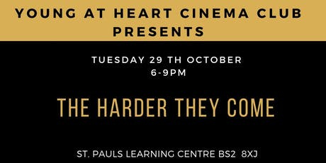Black History Month: Young @ Heart Cinema Presents Harder They Come  tickets