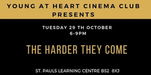 Black History Month: Young @ Heart Cinema Presents Harder They Come
