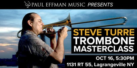 Trombone Masterclass Featuring Steve Turre from Saturday Night Live Band tickets