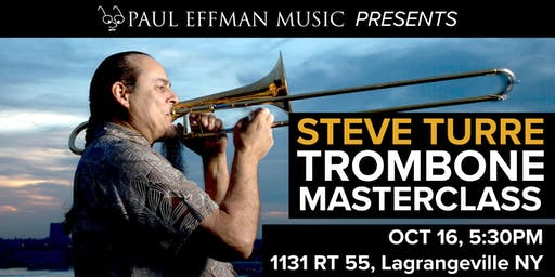 Trombone Masterclass Featuring Steve Turre from Saturday Night Live Band