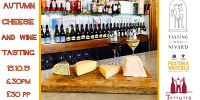 Autumn Cheese & Wine Tasting