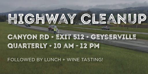 Cal Poly Alumni - North Bay Chapter: Highway Cleanup