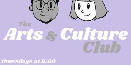 Arts & Culture Club tickets