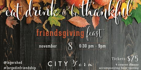 Friendsgiving Dinner tickets
