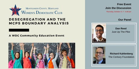 Desegregation and the MCPS Boundary Analysis tickets