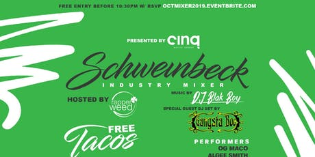Schweinbeck Industry Mixer 10/24 Apartment 503 - Los Angeles, CA tickets