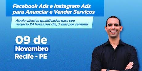 Facebook Ads e Instagram Ads para Anunciar e Vender Serviços ingressos