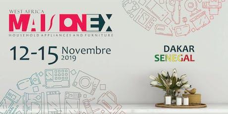 Maisonex Expo 2019 billets